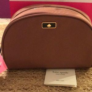 NWT Kate Spade medium dome cosmetic bag